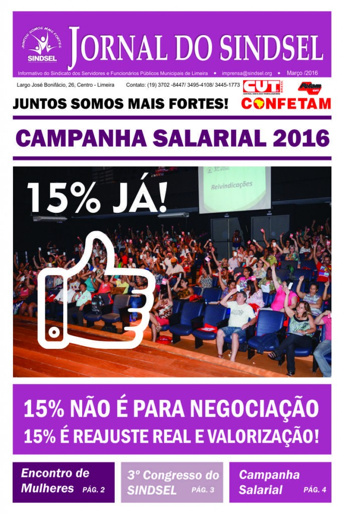 Jornal Março - CAPA